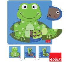 Goula - Puzzle da rã