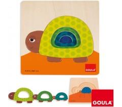 Goula - Puzzle tartaruga crescente