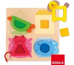 Goula - Puzzle mascotes