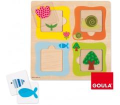 Goula - Puzzle transparências