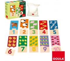 Goula - Puzzle de 1 a 10