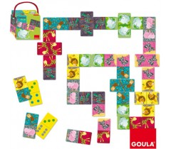 Goula - Dominó Animais da selva