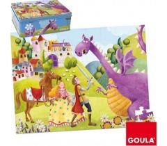 Goula - Puzzle Princesa e o Dragão