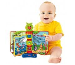 Fisher Price - Livro Interactivo Aprender e Brincar