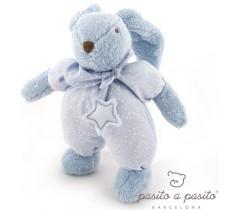 Pasito a Pasito - Coelhinho de peluche Etoile azul