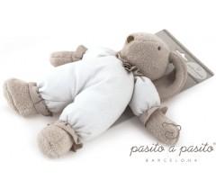 Pasito a Pasito - Coelhinho de peluche Baby Etoile beje