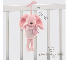Pasito a Pasito - Coelhinho Musical Baby Etoile rosa