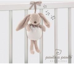 Pasito a Pasito - Coelhinho Musical Baby Etoile beje