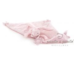 Pasito a Pasito - Doudou Coelhinho Baby Etoile rosa