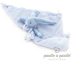 Pasito a Pasito - Doudou Coelhinho Baby Etoile azul