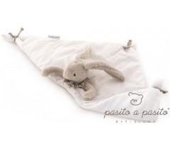 Pasito a Pasito - Doudou Coelhinho Baby Etoile beje