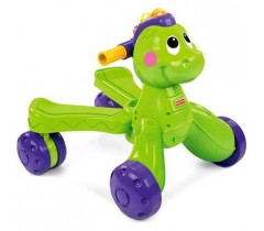 Fisher Price - Andador 2 em 1 do Dino