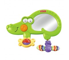 Fisher Price - Crocodilo Musical Amiguinhos do Zoo