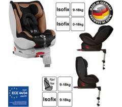 Hauck - Cadeira auto Varioguard (Gr. 0/1) incl. base isofix Black/Beige