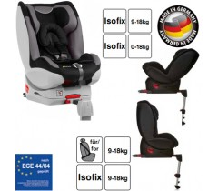 Hauck - Cadeira auto Varioguard (Gr. 0/1) incl. base isofix Black/Grey
