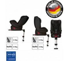 Hauck - Cadeira auto Varioguard (Gr. 0/1) incl. base isofix Black Edition
