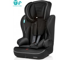 MS - Cadeira auto Travel Negra-Gris