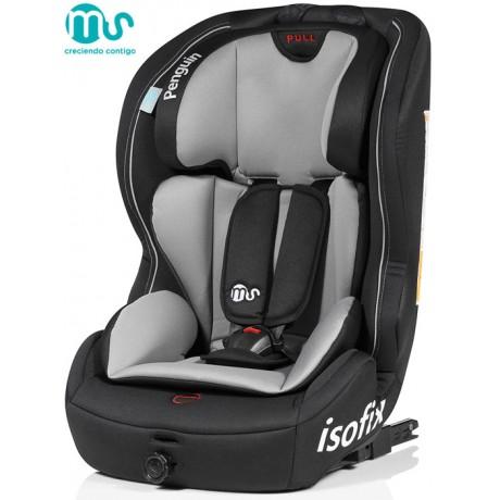 MS - Cadeira auto PenguinFix Negra-Gris