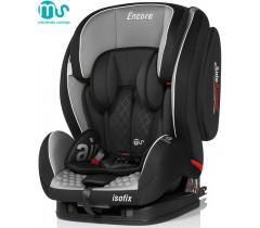 MS - Cadeira auto Encore Gris-negro + Isofix
