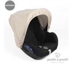 Pasito a Pasito - Capota para cadeira grupo 0, Atelier Beje