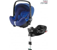 Britax Baby Safe I-Size BUNDLE + Base FLEX Ocean Blue