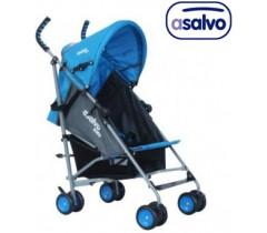 Asalvo - Carrinho de passeio  LIBERTY BLUE-GREY
