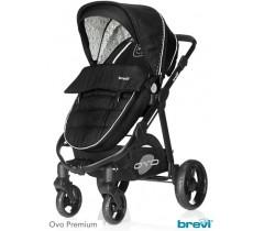 Brevi - Trio, carrinho, alcofa e cadeira grupo 0, Ovo Car
