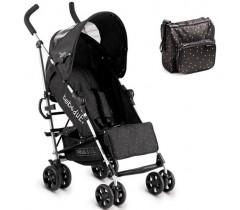 Bebedue - Carrinho de bebé Zero Triangles Black