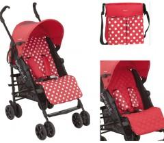 Bebedue - Carrinho de bebé B-Smart Feria Rojo