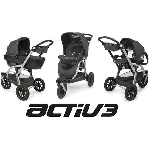 chicco trio de beb activ3 anthracite. Black Bedroom Furniture Sets. Home Design Ideas