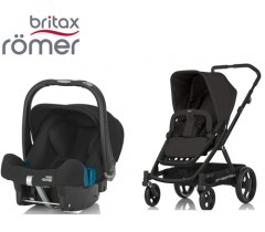 Duo Britax GO + Römer Baby Safe SHR II Cosmos Black
