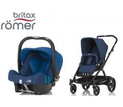 Duo Britax GO + Römer Baby Safe SHR II Ocean Navy