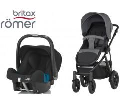 Duo Britax Smile 2 + Römer Baby Safe SHR II Steel Grey