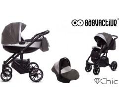 BabyActive - Carrinho de bebé 3 in 1 Chic