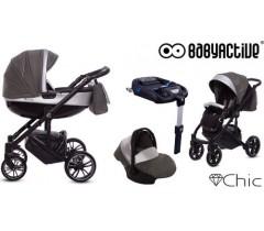 BabyActive - Carrinho de bebé 4 in 1 Chic