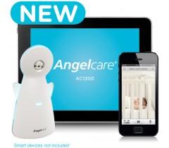 Angel Care - Intercomunicador Eletrónico com monitor do movimento da respiração, luz noturna, sensor de temperatura e vídeo