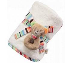 Baby Fehn - Manta com Pequeno Anel Urso