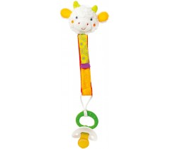 Baby Fehn - Porta chupeta Vaca (0m+)