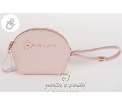 Pasito a Pasito - Porta chupetas rosa - Elodie