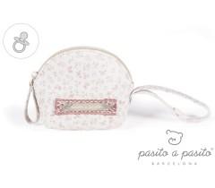 Pasito a Pasito - Porta chupetas, Laforet flor