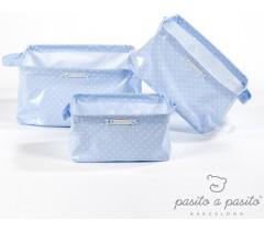 Pasito a Pasito - Cestos de produtos de bebé (cj 3), ATELIER