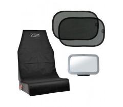BRITAX RÖMER Pack 3 (Espelho+Tapa Sol+Prot.Assento)
