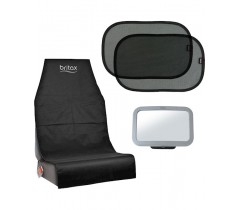 Britax Pack 3 (Espelho+Tapa Sol+Prot.Assento)
