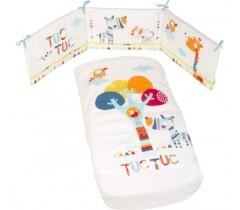 Tuc Tuc - conjunto de cama + proteção 140 x 70 Baobab
