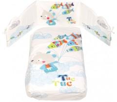 Tuc Tuc - Conjunto de cama + proteção 140 x 70 - Kimono