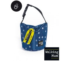 Walking Mum - Porta chupetas Denim Baby, Azul