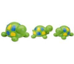 Saro - Familia as tartarugas para o banho