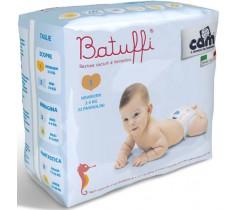 CAM - Fraldas Battuffi, Tam. 1 (2-5Kgs)