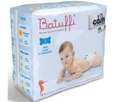 CAM - Fraldas Battuffi, Tam. 2 (3-6Kgs)