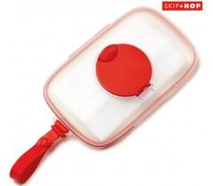 Skip Hop - Porta toalhitas bebé Swipes Red